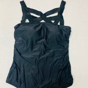One Piece Bathing Suit With Stretchable Straps